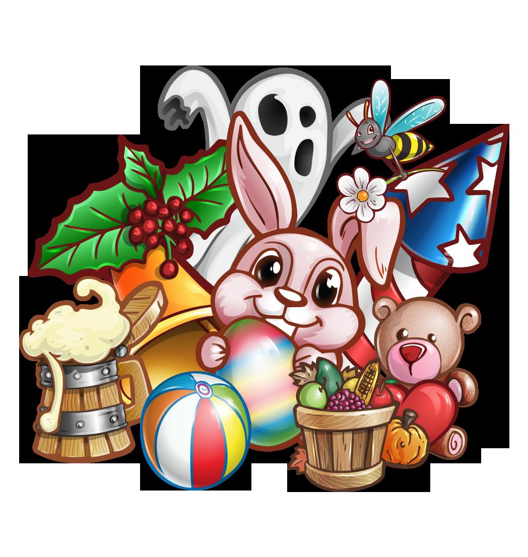 Holiday Icons Set