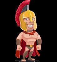 Nikos the Handsome Spartan