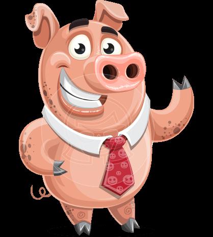 Smokey Hans the Pig