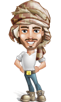 Sabih the Desert man