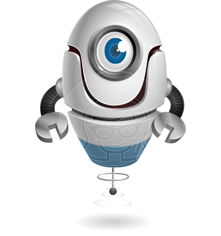 cyclop vector character by GraphicMama