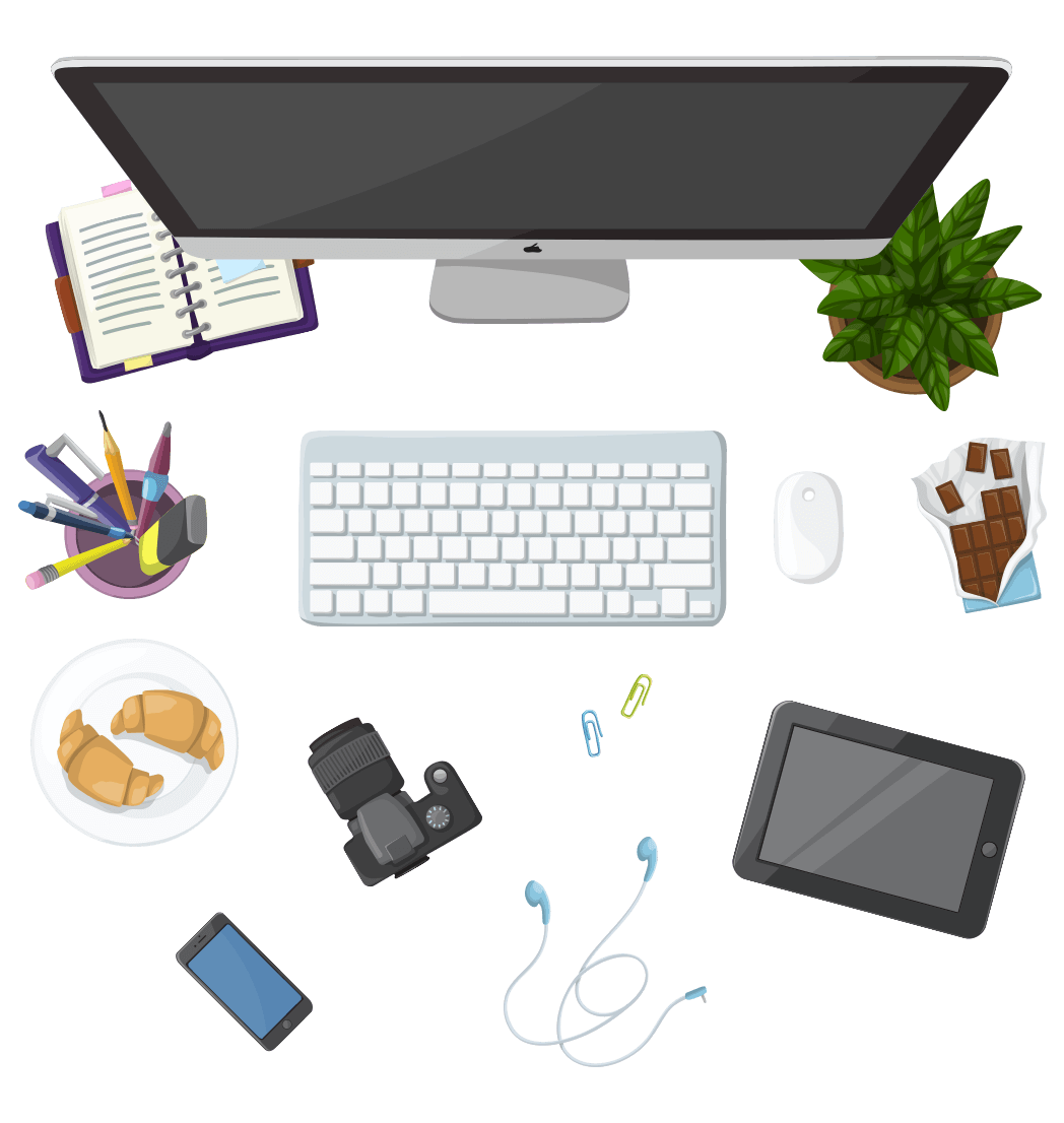 Designer's Desk Set: My Mini World