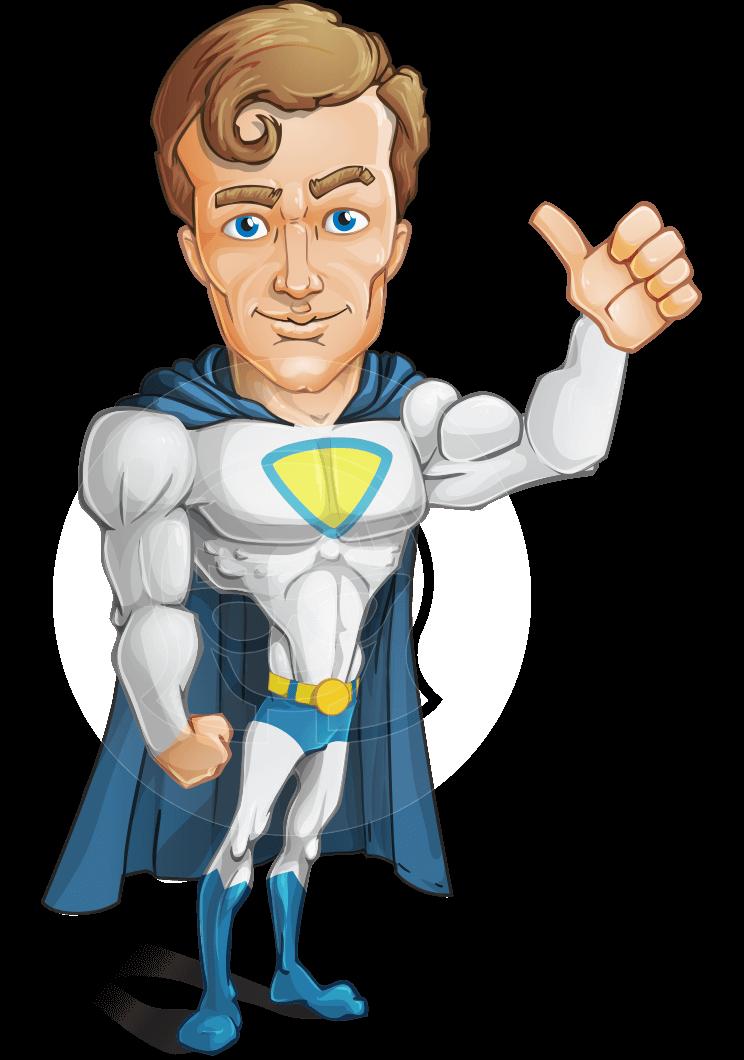 Cartoon Characters Johnny : Vector hero male cartoon character johnny colossal