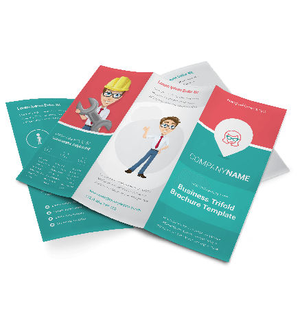 Tri-Fold Brochure: Triple My Success