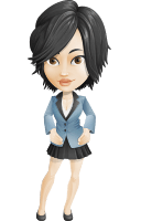 Zara as Miss Mini Skirt