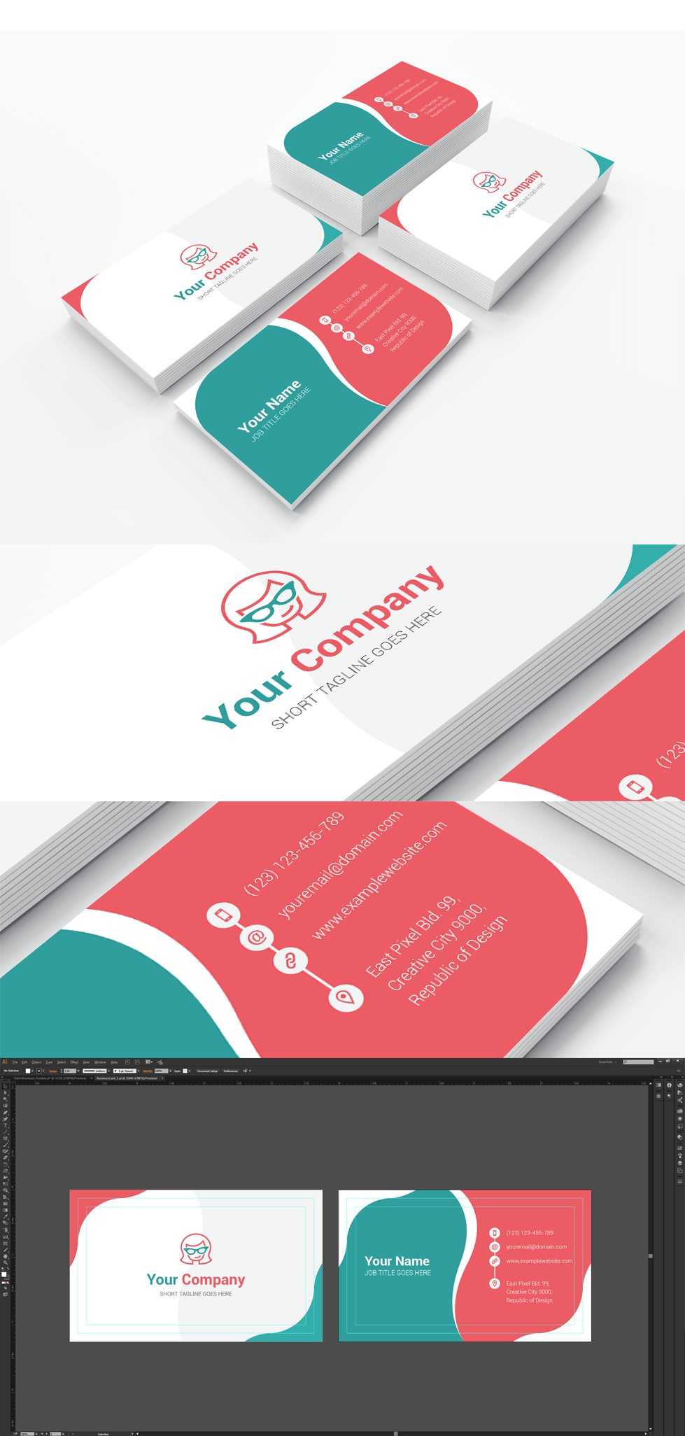 Vector Business Card \
