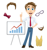 Business Vector Cartoon Graphic Maker
