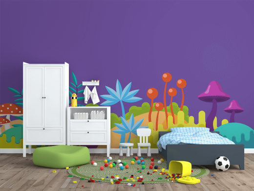 Children\'s Bedroom Stickers #2 | GraphicMama
