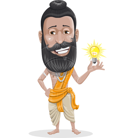 Hansh the Indian Guru