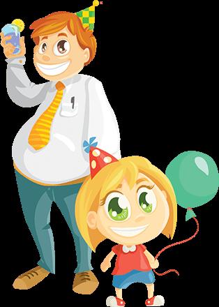 Child's Birthday Set