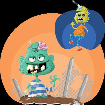 Halloween Monsters Set
