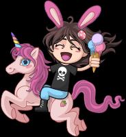 Unicorn and Rainbow in HappyLand mini pack