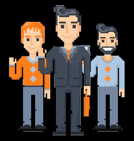 Pixel Design People: The 8bit Men