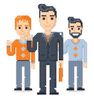 Pixel Design People: The 8bit Men