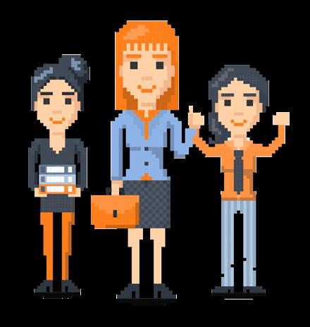 Pixel Design People: The 8bit Women