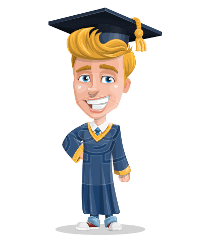 Greg the Graduate Boy