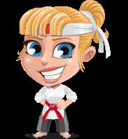 Peta The Little Karate Girl