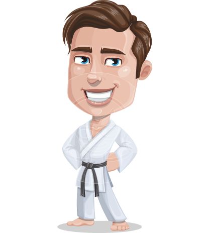 Greg The Handsome Karate Guy