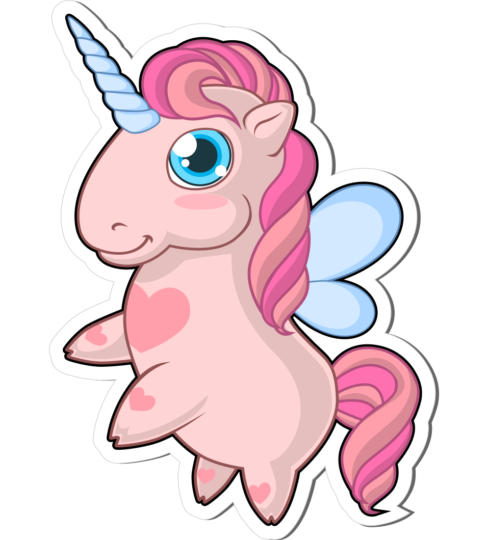 Pamper Pink - The Chubby Cute Unicorn