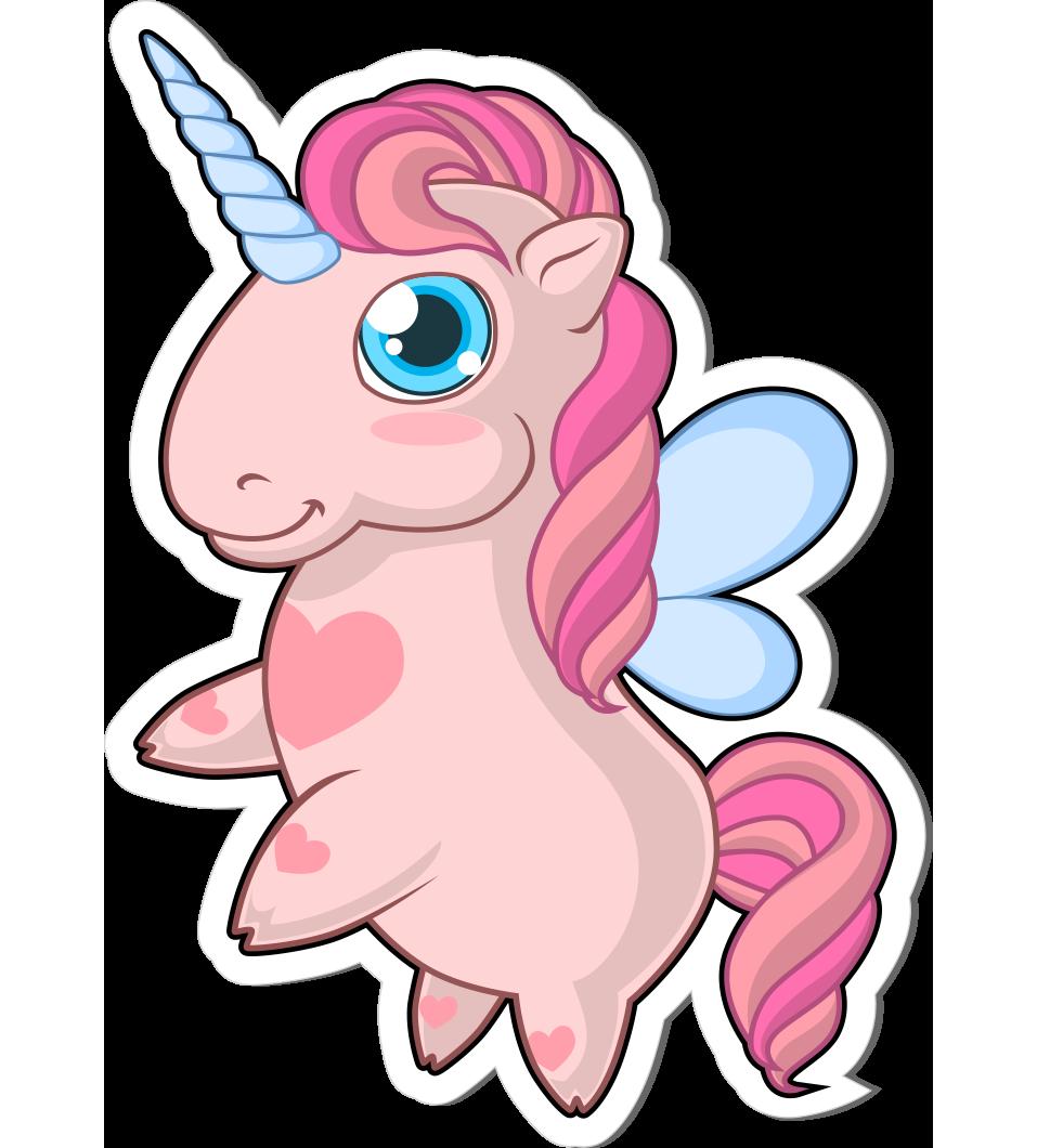 unicorn stickers vector free pamper pink graphicmama freebie