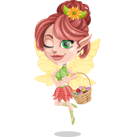 Frida the Flower Fairy