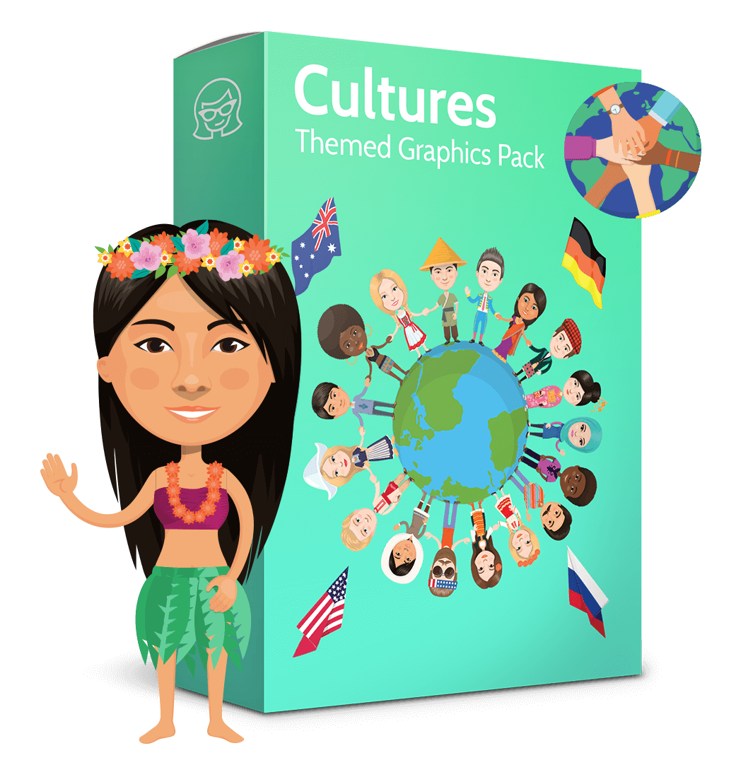 Colorful World: People and Cultures