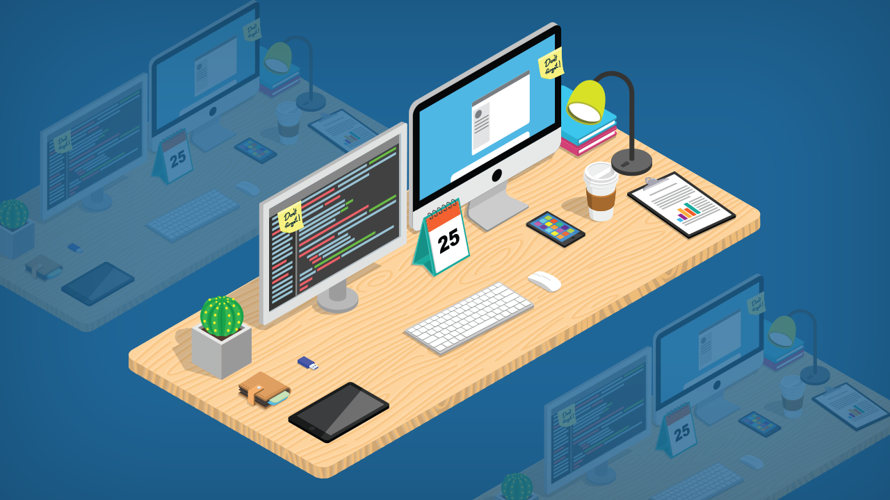My dream desk setup creation kit graphicmama see this creation kit in action customizing your vector graphics look is as easy as pie check out this video tutorial to help you get going baditri Gallery