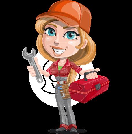 Carlita the Sweet Mechanic Woman