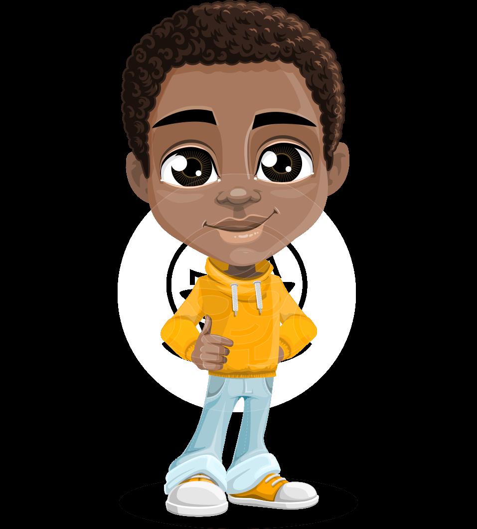 Jorell the Playful African American Boy
