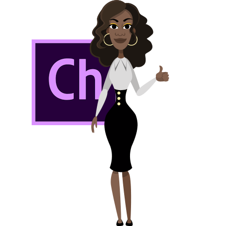 Business Lady Character Animator Puppet