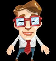 Mr. Geekson Character Animator Puppet
