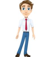 Alex the Businessman Character Animator Puppet