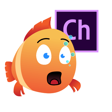 Happy Chubby Fish Character Animator Puppet