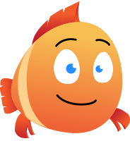 Happy Chubby Fish Character Animator Puppet