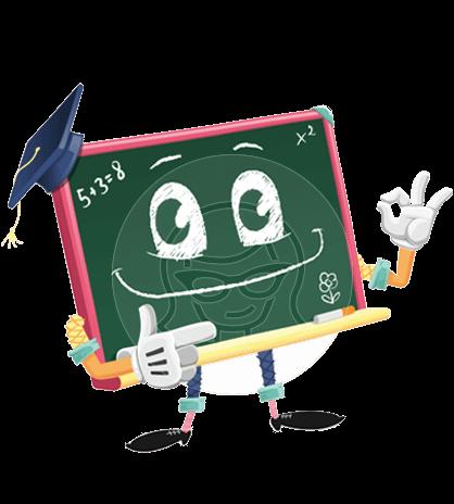 Greeny the Chalkboard