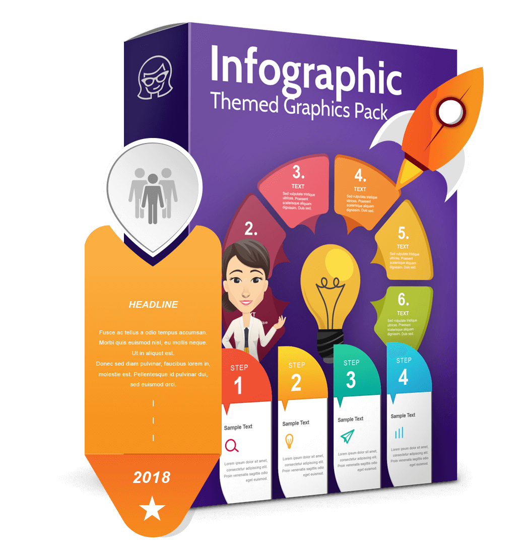 Vector Infographic Template Collection