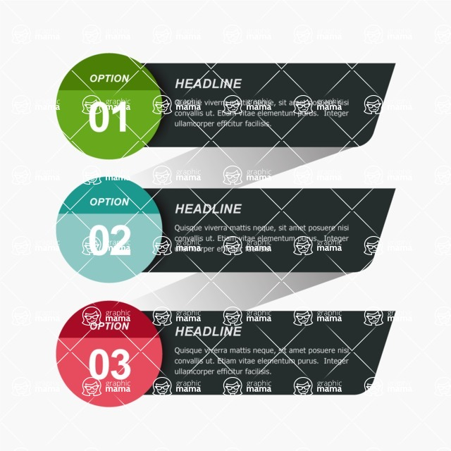 Infographic Templates Collection - Vector, Photoshop, PowerPoint, Google Slides - Infographic Labels Template