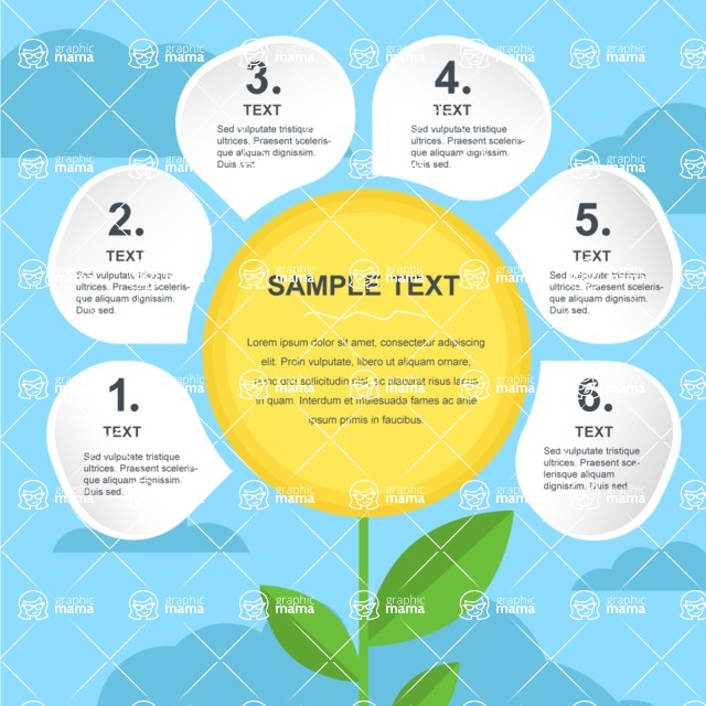 Infographic Templates Collection - Vector, Photoshop, PowerPoint, Google Slides - Eco Infographic Template