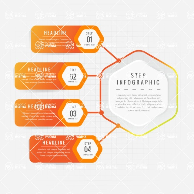 Infographic Templates Collection - Vector, Photoshop, PowerPoint, Google Slides - Modern Infographic Template