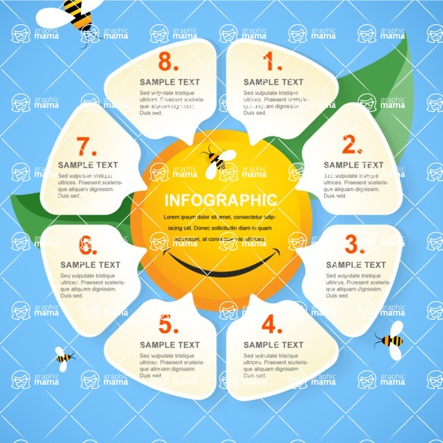 Infographic Template Collection - Positive Infographic Template
