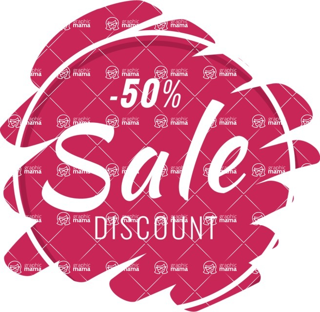 Sale Badges Vector Collection - Discount Badge Vector Template