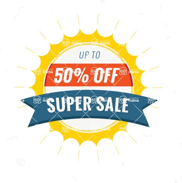 Sale Badges Vector Collection - Super Sale Vector Badge
