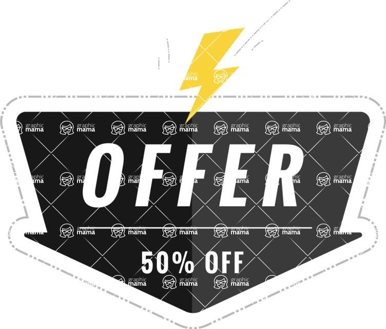 Sale Badges Vector Collection - Vector Flash Sale Graphic