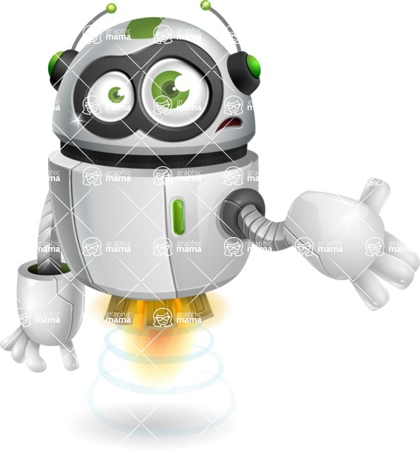 robot vector cartoon character - robot vector cartoon character design sorry