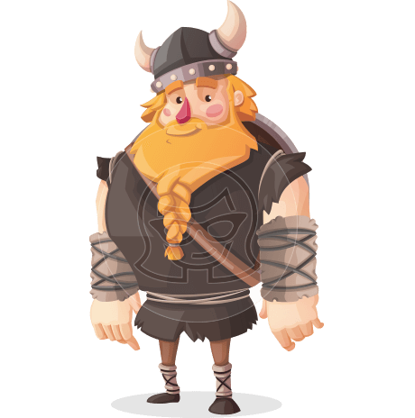 Viking Torhild the Brave