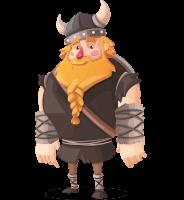 Viking Torhild the Brave