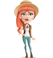 Adeline Bangs the Redhead