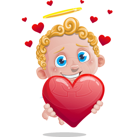 Cupid Cartoon Character