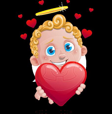 Cupid Cartoon Character