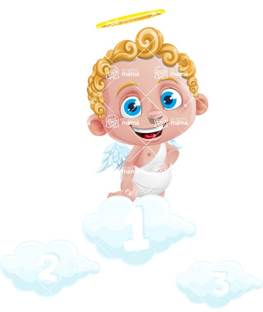 Cupid Cartoon Character - Cartoon Cupid On Top